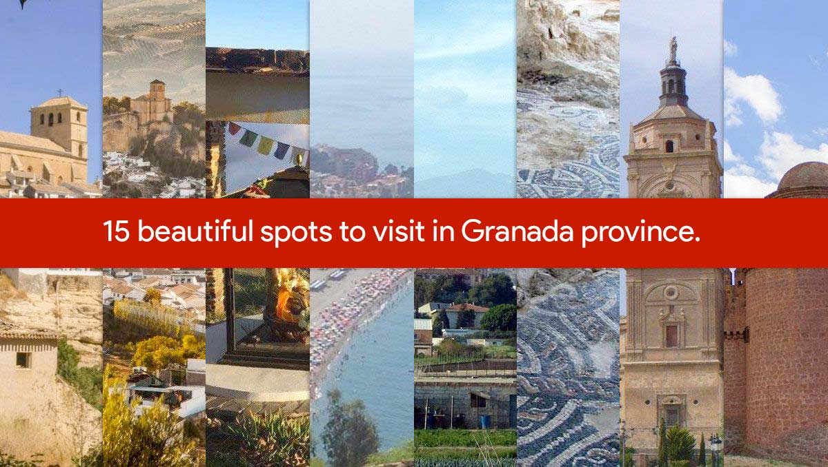 15 places to see in Granada province