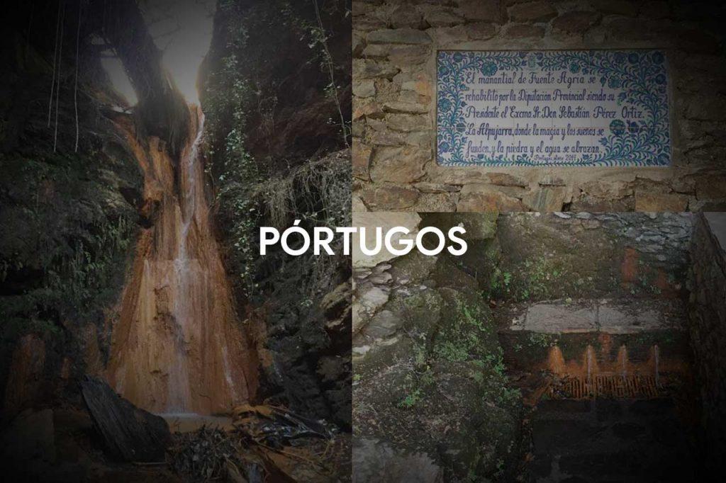 The Fuente Agria Spring in Pórtugos