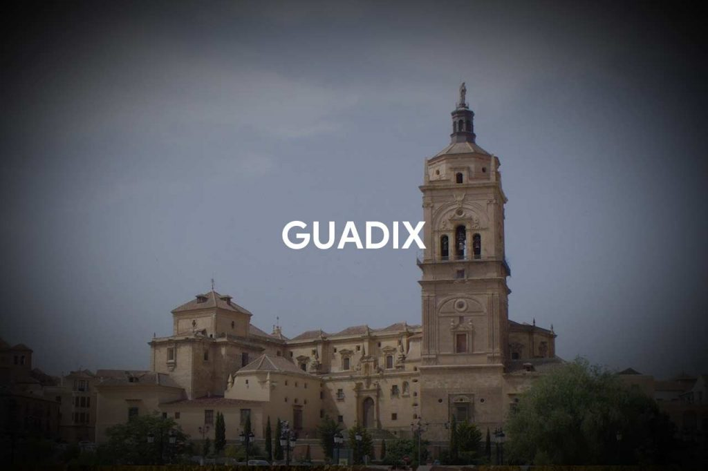 Guadix with its Cathedral and its Alcazaba