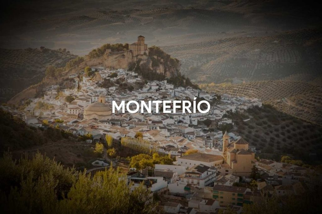 Montefrío: the Arab fortress and the Church of La Villa