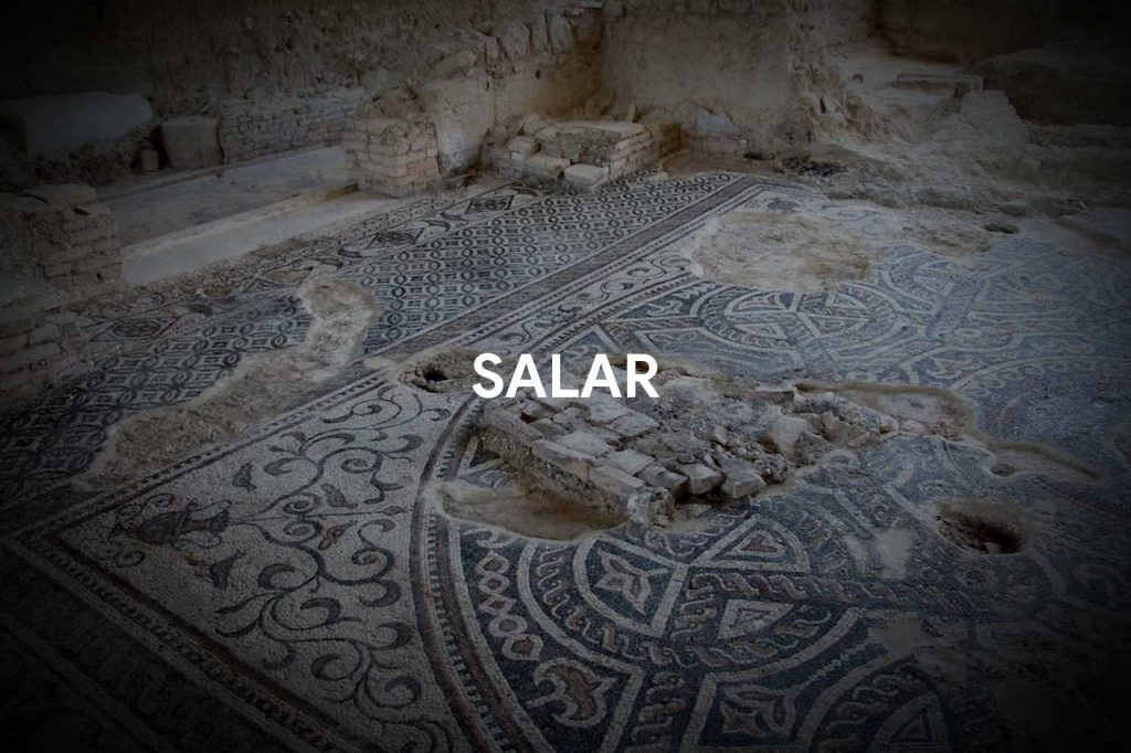 On the Roman trail in Salar
